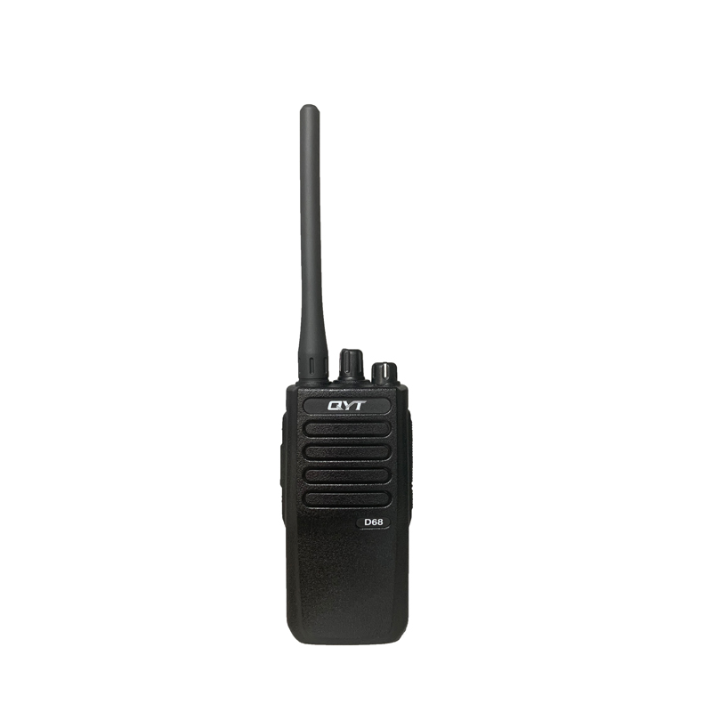 What is the difference between analog and digital walkie talkie?